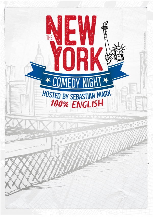 The New York Comedy Night hosted by Sebastian Marx