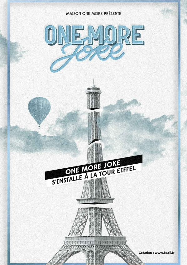 One More Joke x Tour Eiffel