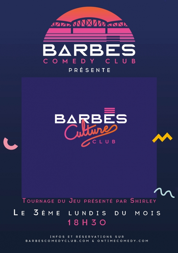 BARBES CULTURE CLUB - LE JEU